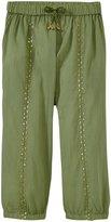 Pink Chicken Harper Pants (Toddler/Kid) - Oil Green - 3 Years