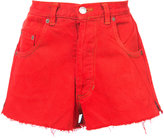 RE/DONE denim mini shorts