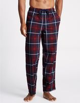 Marks and Spencer Supersoft Checked Pyjama Bottoms