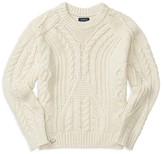 Ralph Lauren Girls' Aran Cable Sweater - Sizes S-XL