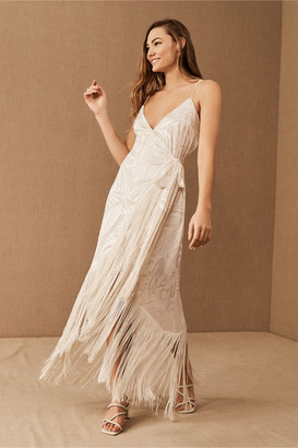 Azulu Floresta Fringe Dress