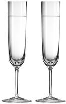 Vera Wang Wedgwood Bande Flute Glasses (Set of 2)
