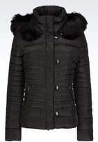 Armani Jeans Down Jacket With Detachable Hood