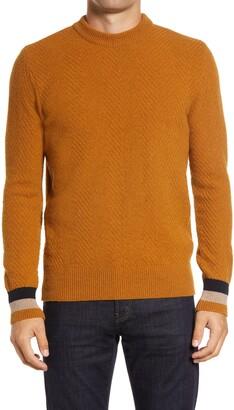 Oliver Spencer Blenheim Slim Fit Crewneck Wool Sweater