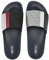 MICHAEL Michael Kors Ayla Slide (Black Multi 2) Women's Slide Shoes