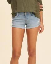 Hollister Low-Rise Denim Short-Shorts