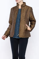 Keren Hart Circle Quilted Jacket