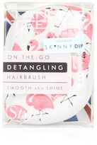 Skinny Dip The compact tangle teezer x skinnydip in pink flamingo