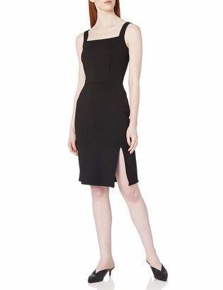 Cupcakes And Cashmere Women's Cardiff Ponte Dress with Slit