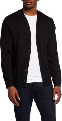 Vince Men's Featherweight Button-Up Cardigan Sweater
