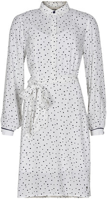 Nümph Bright white 9000 Nuailish Dress 7220810 - S .