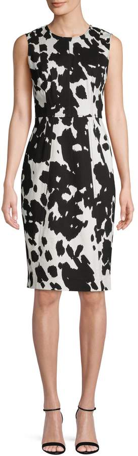 Diane von Furstenberg Calliope Cattle Dress