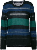 P.A.R.O.S.H. striped crew neck sweater