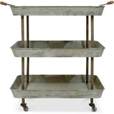 3r Studio 3-Tier Metal Cart on Casters