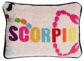 Jonathan Adler Scorpio Needlepoint Throw Pillow