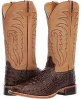 Old West Boots - Doc Square Toe Cowboy Boots