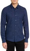 BOSS Men's Reid Stripe Sport Shirt