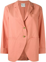 Forte Forte three-quarters sleeve loose-fit blazer - women - Cotton - 1