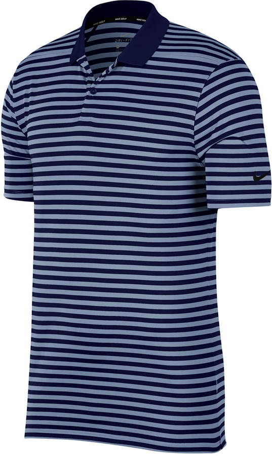 816bf8f41 Mens Pink & Blue Striped Polo Shirt - ShopStyle