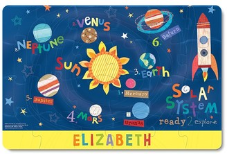 Pottery Barn Kids Outer Space Personalized Puzzle