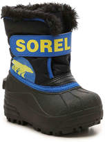 Sorel Boys Snow Commander Infant, Toddler & Youth Snow Boot
