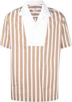 Cmmn Swdn Deven Popover shirt - men - Cotton - 44