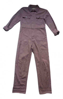 Urban Outfitters Purple Cotton Jumpsuits