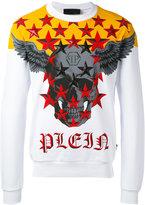 Philipp Plein graphic sweatshirt - men - Cotton - M