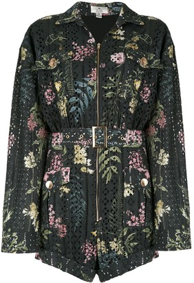 We Are Kindred Floral Long-Sleeve Playsuit