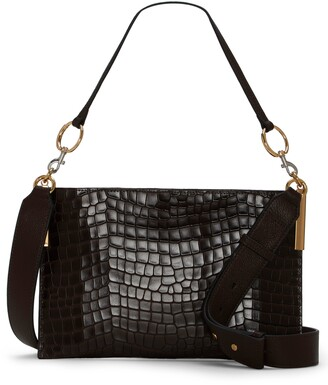 Vince Camuto Dev Leather Crossbody Bag