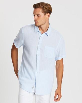 Sportscraft Short Sleeve Linen YD Shirt