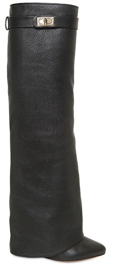 Givenchy 110mm Grained Calfskin Boots