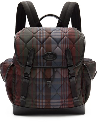 Mulberry Heritage Backpack Multicolour Quilted Heritage Check