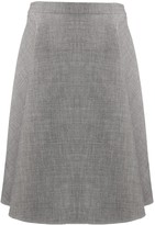 Ports 1961 a-line flared skirt