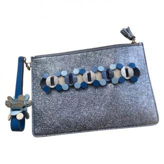 Anya Hindmarch Metallic Leather Clutch bags