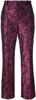 Lanvin jacquard brocade trousers - women - Silk/Cotton/Acrylic/Wool - 38