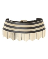 Versace Chain Leather Belt