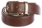 Balenciaga Leather Buckle Belt