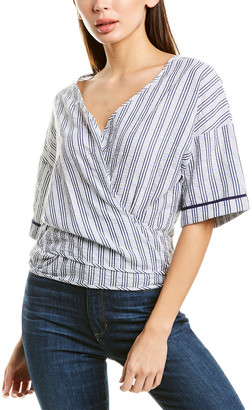 SUBOO V-Neck Wrap Top