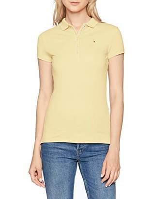 Tommy Hilfiger Women's New Chiara STR PQ Polo SS Shirt,Large