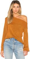 Lovers + Friends x REVOLVE Fun Seeker Sweater in Burnt Orange. - size L (also in M,S,XL,XS)