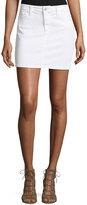 Joe's Jeans Annie Jean Mini Skirt, White