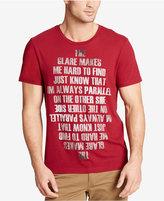 William Rast Men's Mirrored Text Print T-Shirt