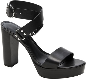 Banana Republic High Block-Heel Sandal