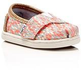Toms Seasonal Classic Metallic Woven Slip On Sneakers - Baby, Walker