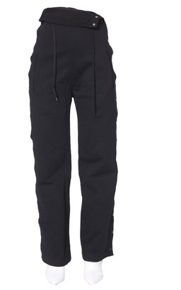 Diesel Red Tag High Waist Buttoned Details Pants