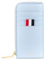 Thom Browne pebbled zip-around wallet