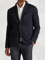 John Varvatos Linen Cotton Military Jacket