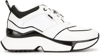 Karl Lagerfeld Paris Aventur Astral contrast piping sneakers
