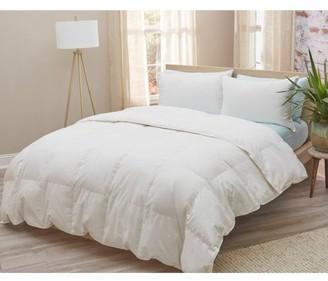 Amberly Bedding European White Goose Down Comforter - Summer Weight